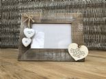 Shabby personalised Chic Photo Frame Auntie Aunty Great Aunt Gift  Present - 232651353760
